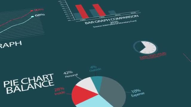 Infographics Abstract Elements: Stock Motion Graphics