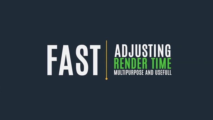 21 Minimal Titles: After Effects Templates