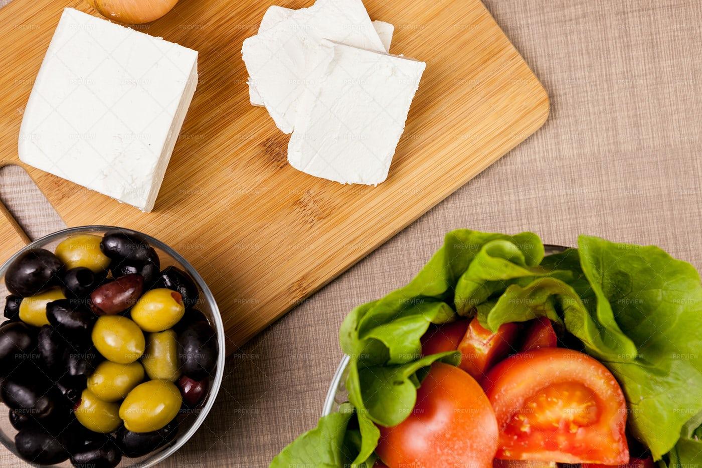 White Feta Cheese: Stock Photos
