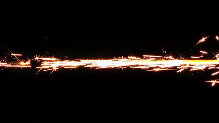Spark Fireworks: Stock Video