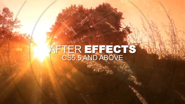 Dynamic Circles Slideshow: After Effects Templates