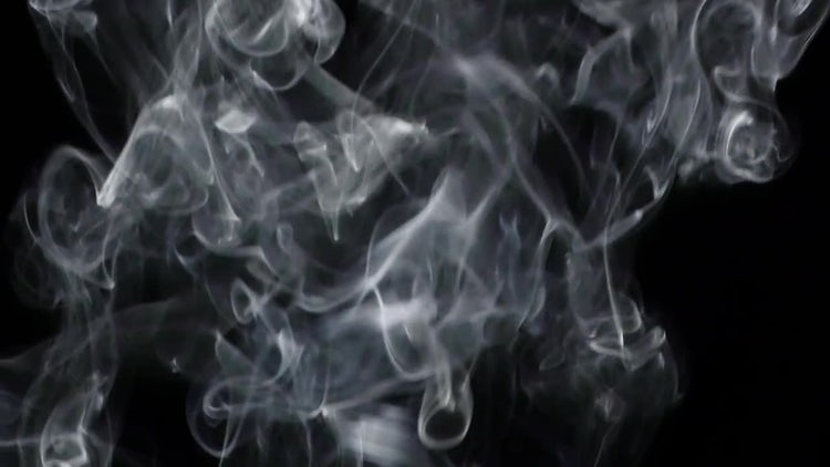 Smoke on Black Background 6: Stock Video