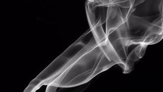 Smoke On Black 7: Stock Video