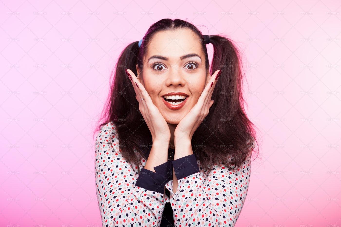 Surprised Woman: Stock Photos