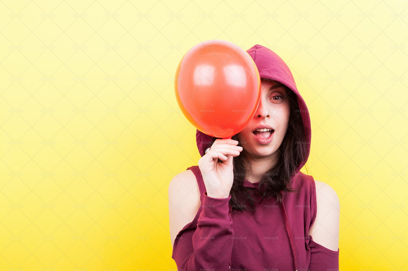 Playful And Making Faces: Stock Photos