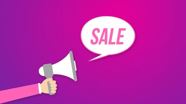Sale Icons: After Effects Templates