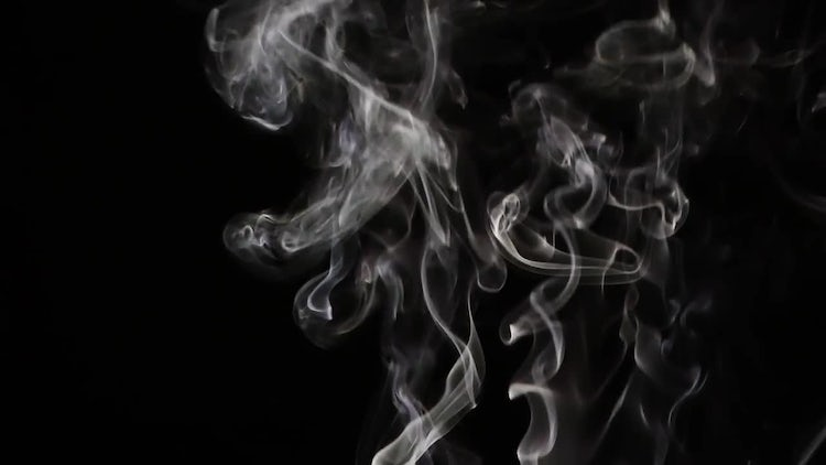 Smoke on Black Background 20: Stock Video