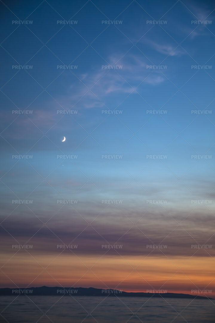 Colorful Sunset: Stock Photos