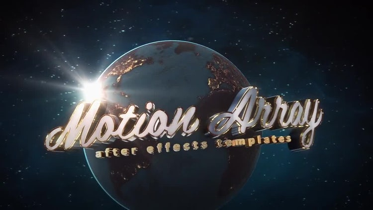 Universe Logo: After Effects Templates