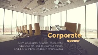 Modern Corporate Promo : After Effects Templates