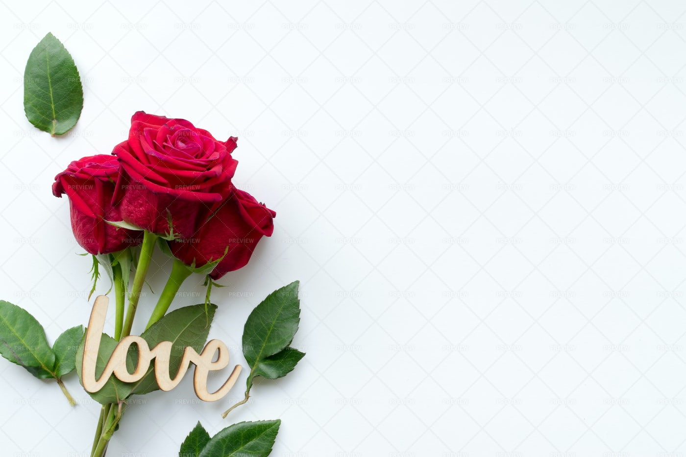 Love And Roses: Stock Photos