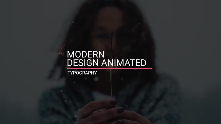 Titles Modern: After Effects Templates