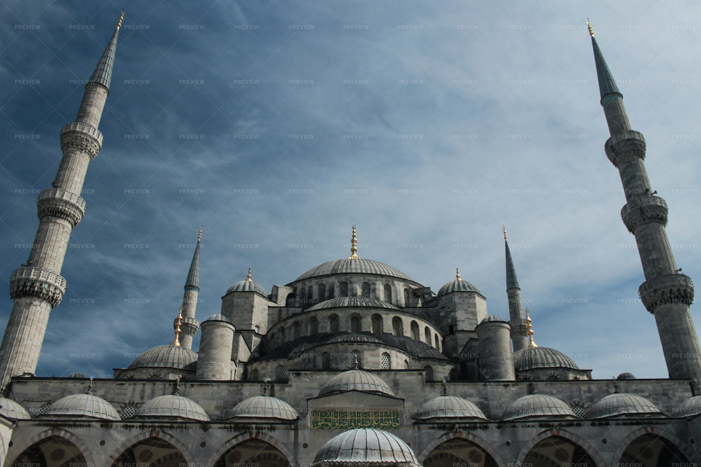Sultan Ahmed Mosque in Istanbul: Stock Photos