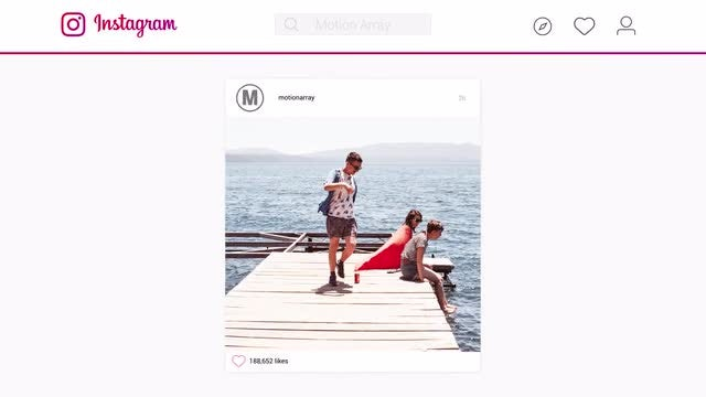 Instagram Corporative Slideshow: After Effects Templates