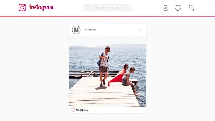 Instagram Corporative Slideshow - After Effects Templates ...