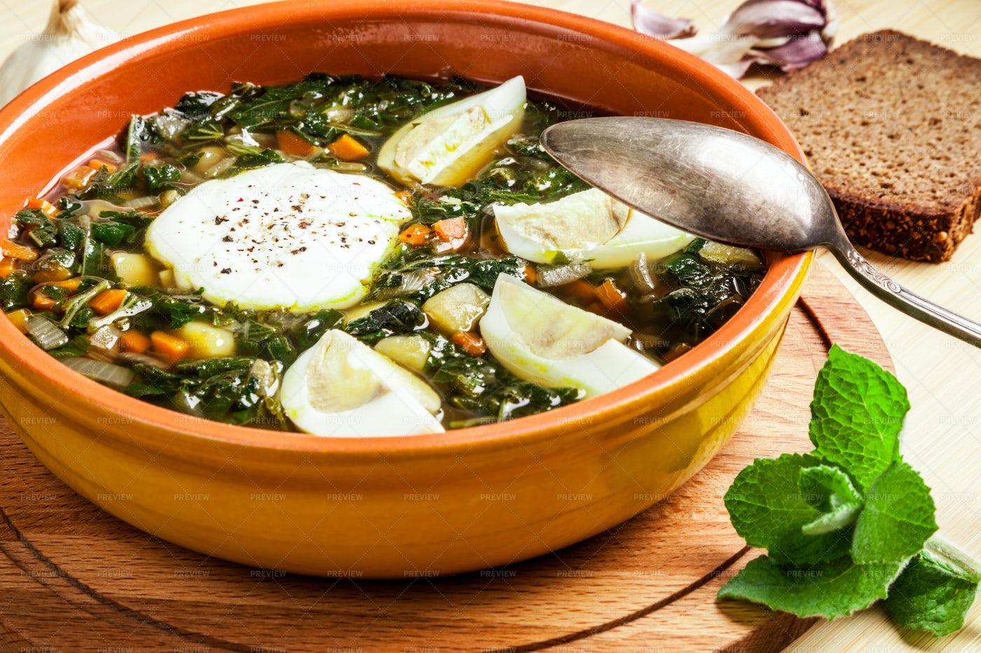 Nettle Soup: Stock Photos