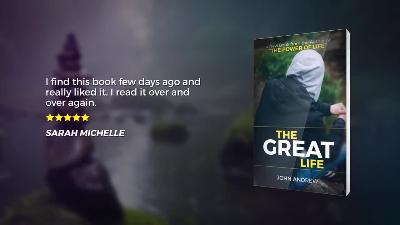 book promo after effects template free