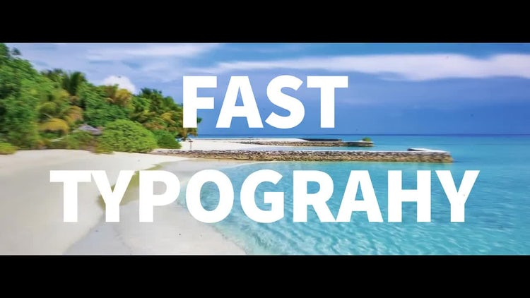 Fast Typography: After Effects Templates