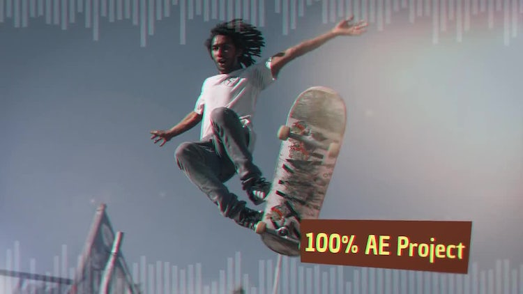 Hard Extreme Slideshow: After Effects Templates