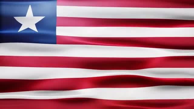 Liberia Flag: Stock Motion Graphics