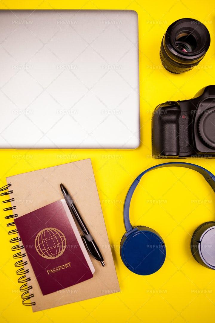 Journalist's Work Kit: Stock Photos
