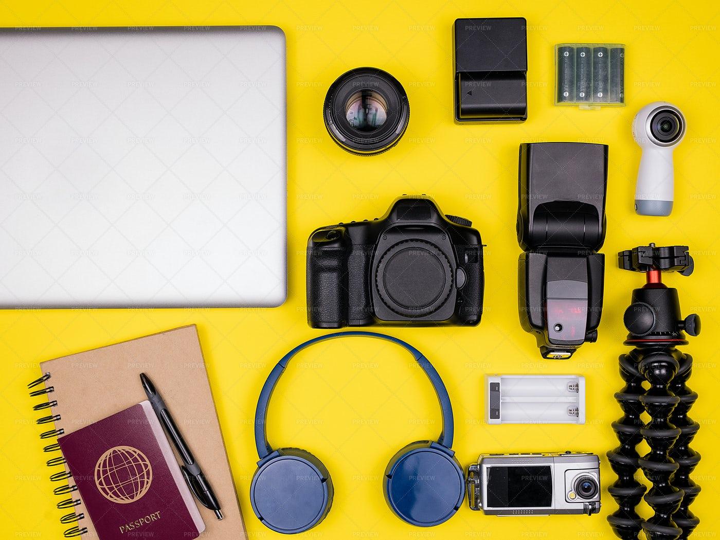 Traveler Photo Accessories: Stock Photos