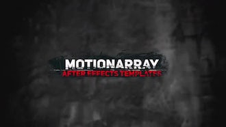 Dirty Titles 1: After Effects Templates