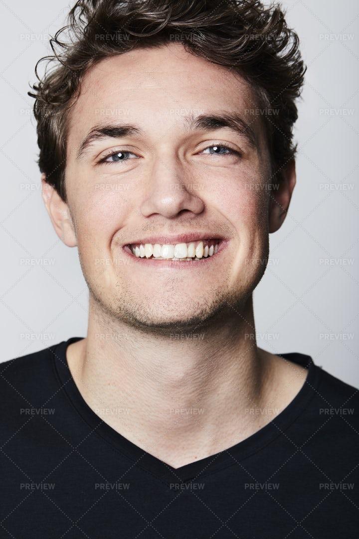 Portrait Of A Smiling Man: Stock Photos