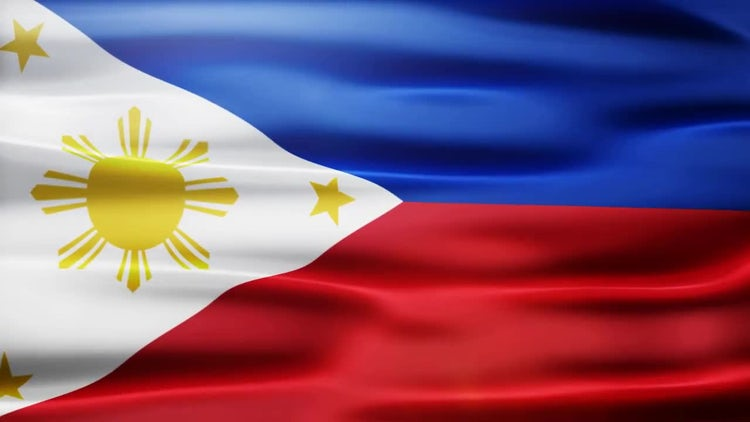 Philippines Flag: Stock Motion Graphics
