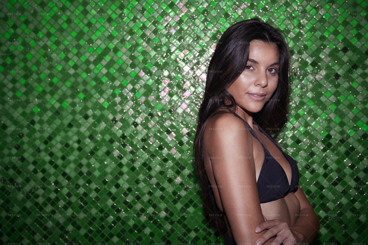 Bikini Portrait: Stock Photos