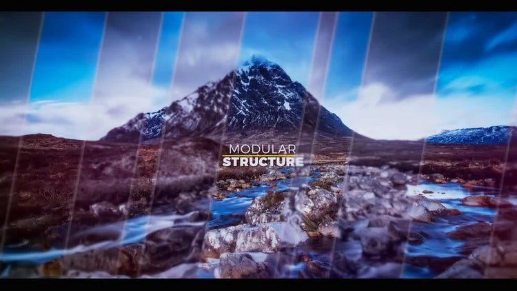 Epic Clean Slideshow: After Effects Templates