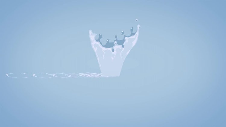 Logo Summer Water Splash: After Effects Templates