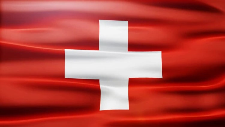 Switzerland Flag: Stock Motion Graphics