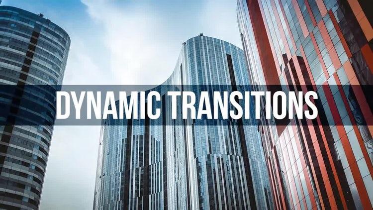 Dynamic Transitions: Premiere Pro Templates