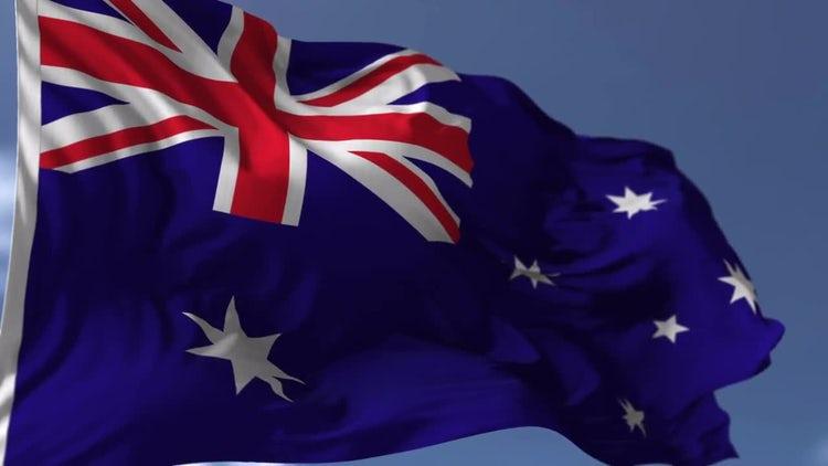 Australian Flag: Motion Graphics