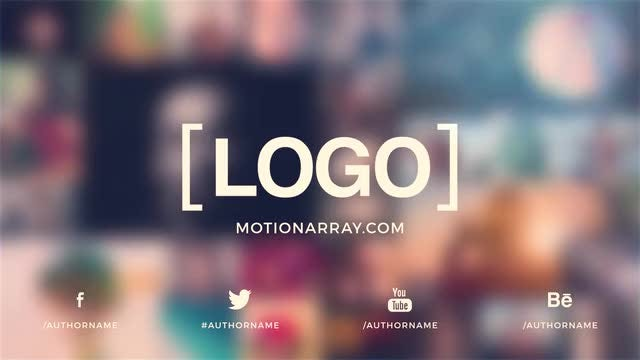 Multi Image Logo: After Effects Templates