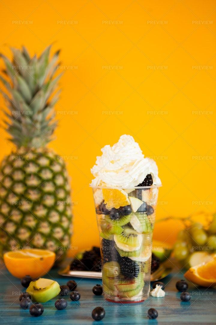Summer Dessert: Stock Photos