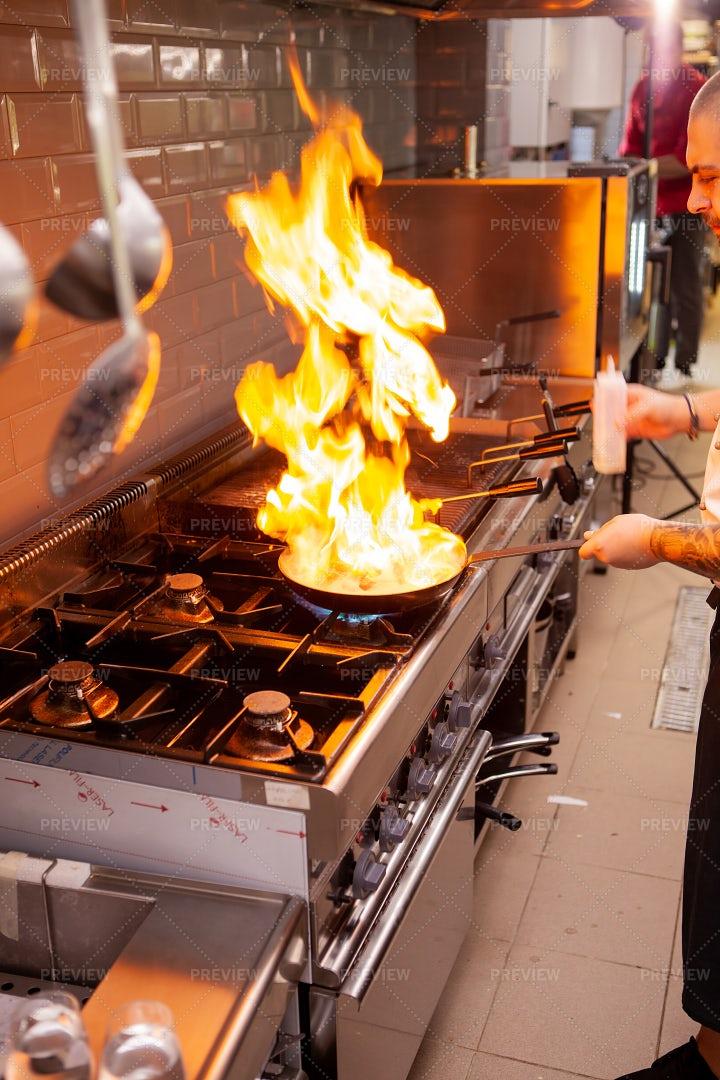 Open Flame Cooking: Stock Photos