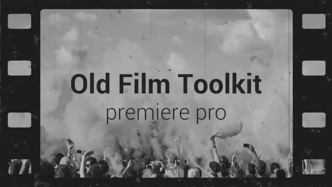 Old Film Toolkit - Motion Graphics Templates | Motion Array