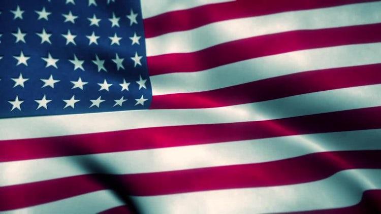 American Flag: Stock Motion Graphics