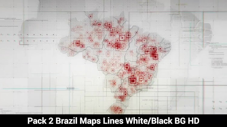 Brazil Maps: Motion Graphics