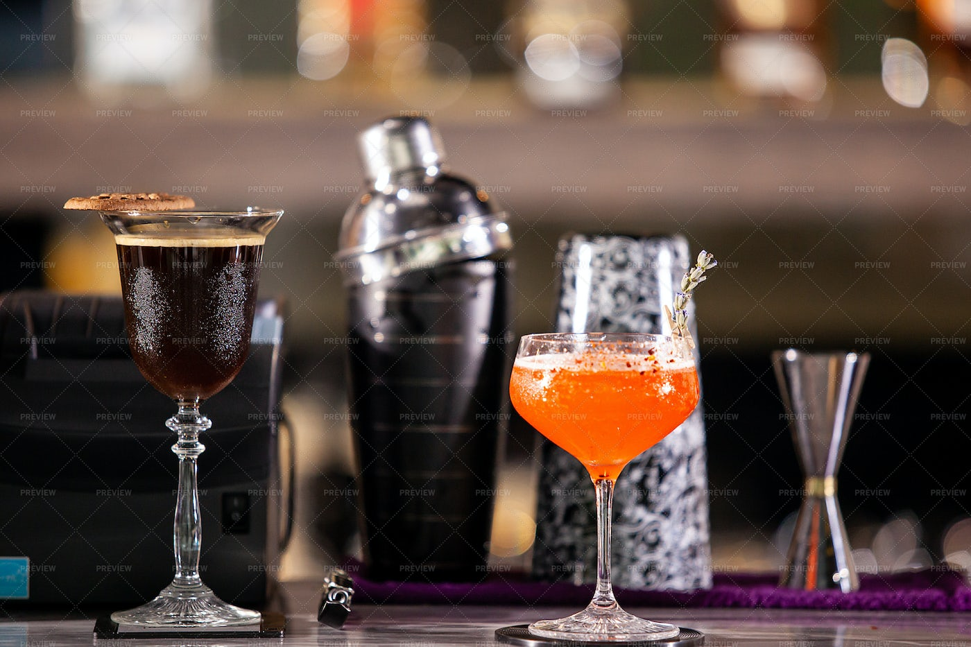 Relaxation Drinks: Stock Photos