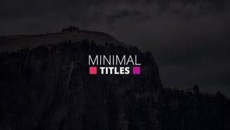 Colorful Simple Titles: Premiere Pro Templates