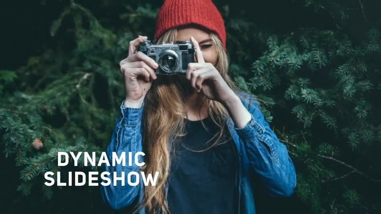 Dynamic Transition Slideshow: After Effects Templates