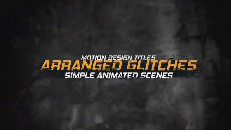 Dirty Titles 2: After Effects Templates