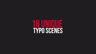 Unique Typography: After Effects Templates