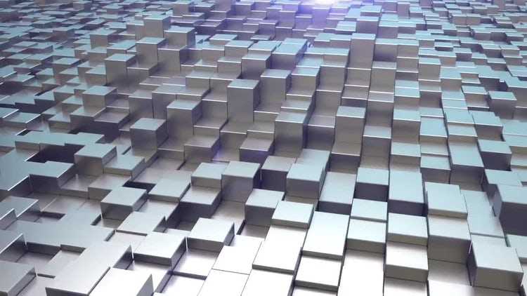 Elegant Cubes Logo Opener: After Effects Templates