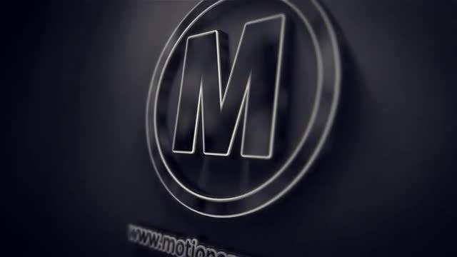 Dark 3D Logo: After Effects Templates