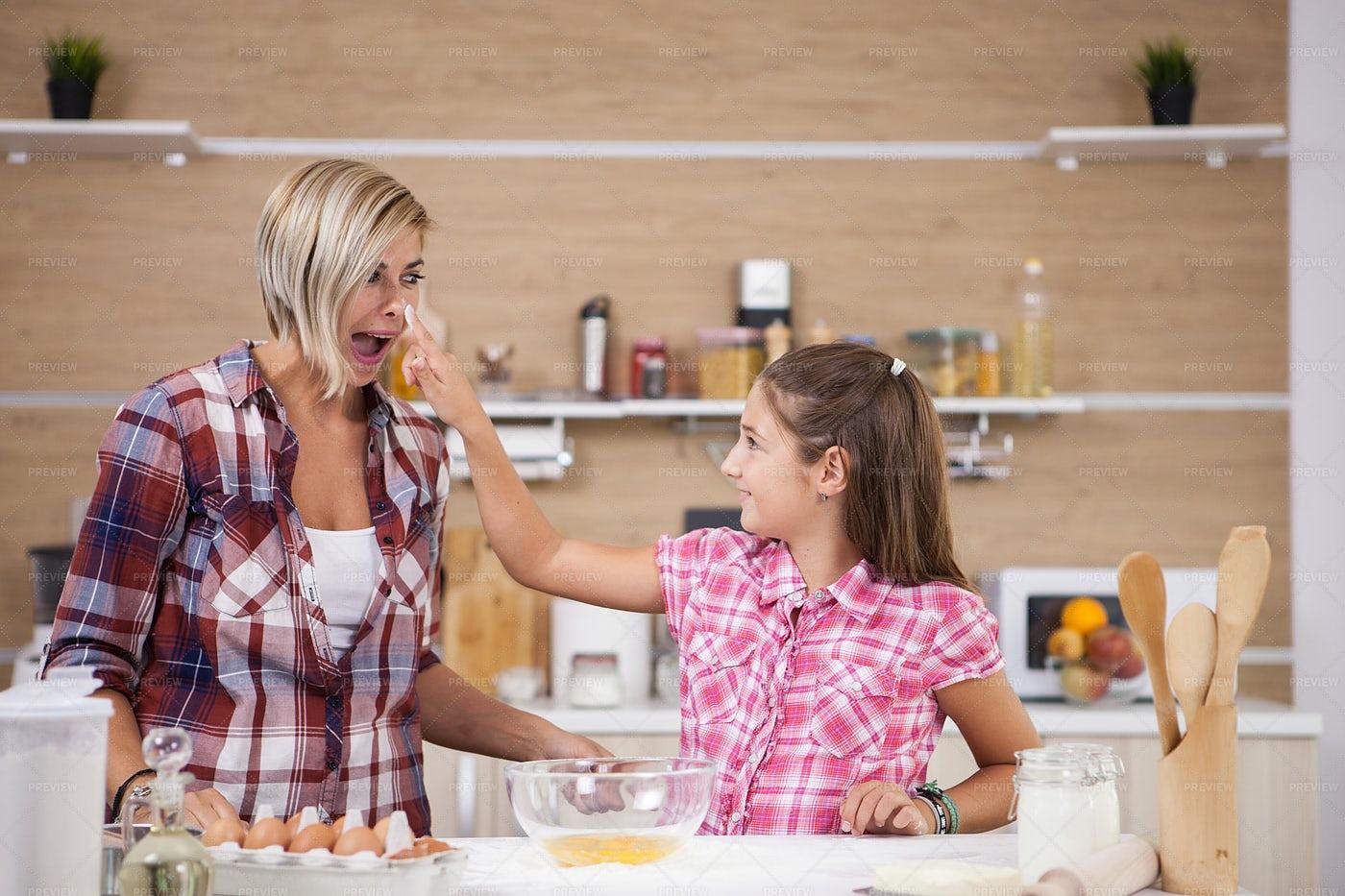 Cooking And Having Fun: Stock Photos