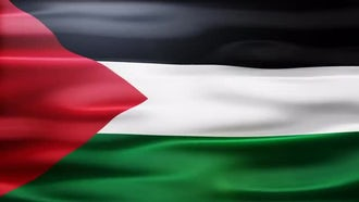 Palestine Flag: Motion Graphics